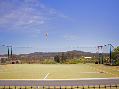 Bluebush Estate Tennis Court