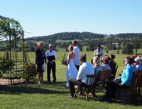 Hunter Valley Wedding in Lovedale