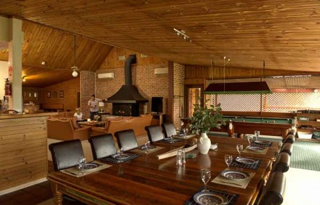 Bluebush Estate Lodge Dining